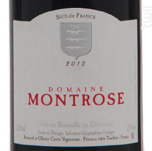 Merlot-Syrah - Domaine Montrose - 2016 - Rouge
