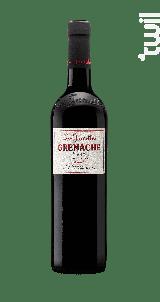Grenache - Les Jamelles - 2017 - Rouge