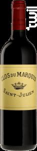 Clos Du Marquis - Domaines Delon • Clos du Marquis - 2019 - Rouge
