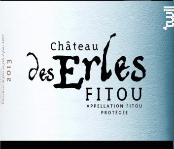 Château des Erles - François Lurton - Château des Erles - 2013 - Rouge