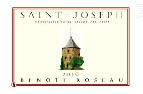 Saint-Joseph La Ribaude - Domaine Benoît ROSEAU - Clos du pigeonnier - 2017 - Rouge