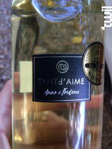 Le blanc de Fred et Anne - Château Lucas - 2015 - Blanc