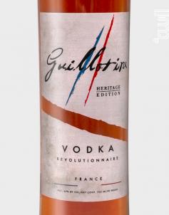 Héritage - Guillotine Vodka - Non millésimé - Blanc