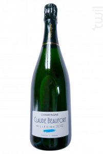 Millésime 2012 - Champagne Claude Beaufort - 2012 - Effervescent