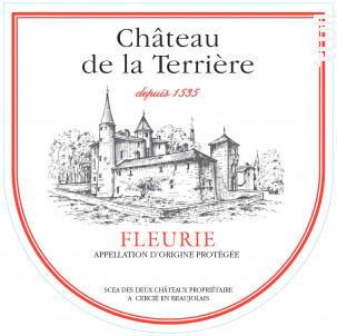 Fleurie - Château de la Terrière - 2017 - Rouge