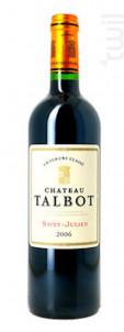 Château Talbot - Château Talbot - 2006 - Rouge
