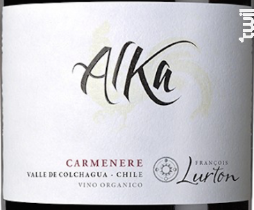 Alka Carmenere - François Lurton - Hacienda Araucano - 2015 - Rouge