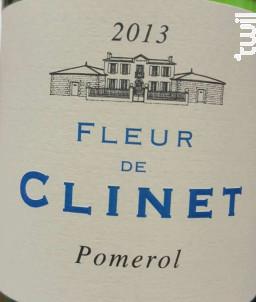 La Fleur de Clinet - Château Clinet - 2016 - Rouge