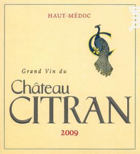 Château Citran - Château Citran - 2009 - Rouge