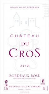 CHATEAU DU CROS - Château Du Cros • Famille Boyer - 2020 - Rosé