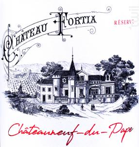 Réserve - Château Fortia - 2017 - Rouge