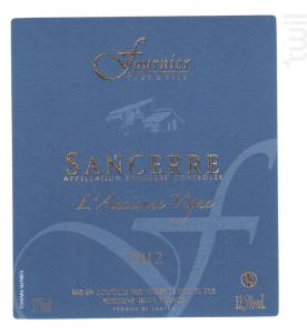 Sancerre L'Ancienne Vigne - FOURNIER Père & Fils - 2017 - Blanc