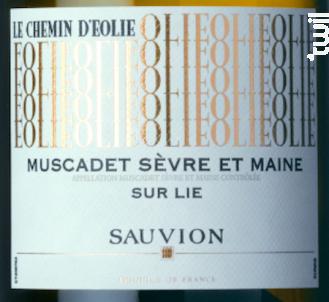 Chemin d'Eolie - SAUVION - CHATEAU DU CLERAY - 2018 - Blanc