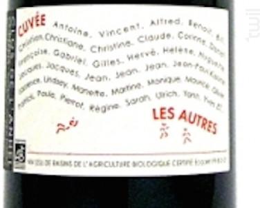 Les Autres - Clos de l'Anhel - 2000 - Rouge