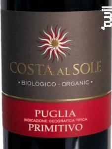 Costa Al Sole Primitivo BIO - Botter - 2016 - Rouge