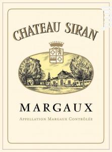 Château Siran - Château Siran - 2012 - Rouge
