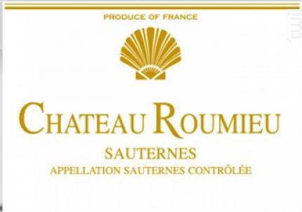 Château Roumieu - Vignobles Dourthe - Château Roumieu - 2015 - Blanc