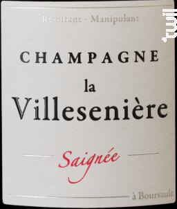 Saignée • Extra Brut - Champagne La Villesenière - 2015 - Rosé