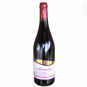 Gamay - Domaine Meunier - 2017 - Rouge
