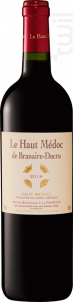 Le Haut Médoc de Branaire-Ducru - Château Branaire-Ducru - 2014 - Rouge