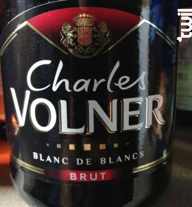 Charles Volner - Blanc de Blancs - Brut - Champagne Charles Volner - Non millésimé - Effervescent