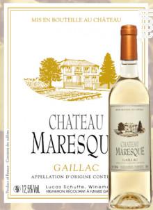 Château Maresque Doux - Château Maresque - 2017 - Blanc