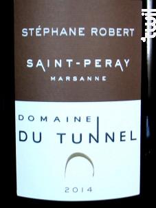 Marsanne - Domaine du Tunnel - 2019 - Blanc