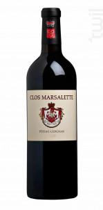 CLOS MARSALETTE - Vignobles Comtes Von Neipperg - 2016 - Rouge