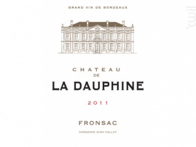 Château de la Dauphine - Château de la Dauphine - 2011 - Rouge