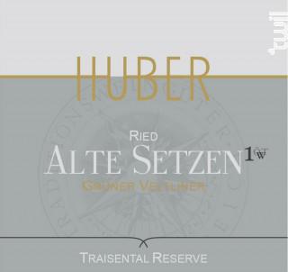 Ried Alte Setzen - HUBER - 2017 - Blanc