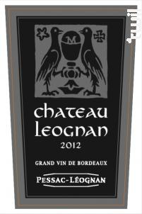 Château Léognan - Château de Léognan - 2012 - Rouge