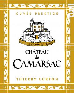 Château de Camarsac Cuvée Prestige - Château de Camarsac - 2008 - Rouge