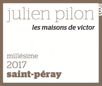 Les Maisons de Victor - Domaine Julien Pilon - 2017 - Blanc