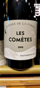 Les Comètes - Antoine de la Farge - Domaine de l'Ermitage - 2018 - Blanc