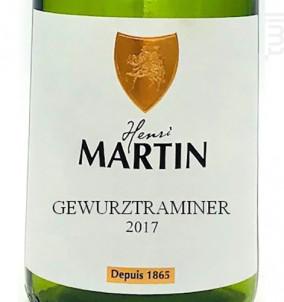 Gewurtztraminer - Henri Martin et Fils - 2017 - Blanc