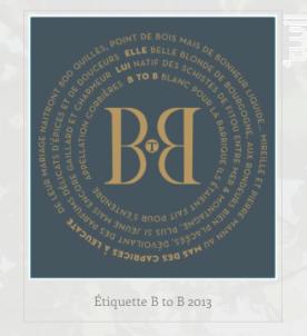 BtoB : Blanc pour la Barrique - Mas des Caprices - 2019 - Blanc