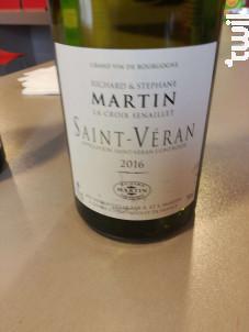 Saint-Véran - Domaine de la Croix Senaillet - 2016 - Blanc