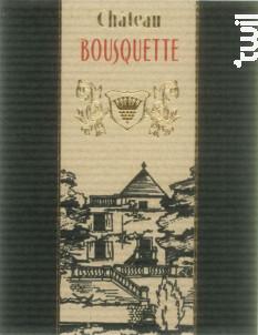 L'Absolu - Château Bousquette - 2017 - Rouge