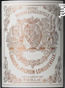 Château Pichon Baron - Château Pichon Baron - 2014 - Rouge