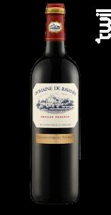 Les Gravières du Taurou - Domaine de Ravanès - 2014 - Rouge