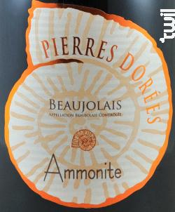 Ammonite - DOMAINE DE CHAMP-FLEURY - 2017 - Rouge