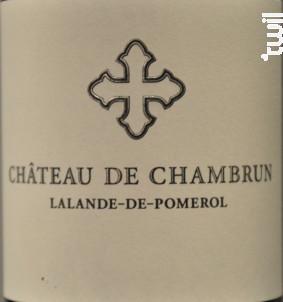 Château de Chambrun - Château de Chambrun - 2014 - Rouge