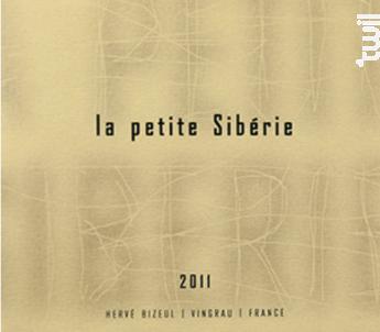 La Petite Sibérie - Hervé Bizeul - Le Clos des Fées - 2009 - Rouge