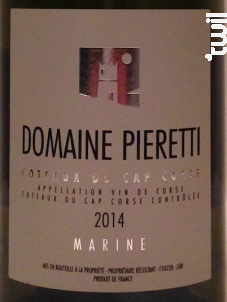 Marine - Domaine Pieretti - 2019 - Blanc