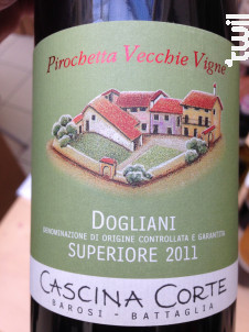 Pirochetta Vacchie Vigna - Cascina Corte - 2016 - Rouge