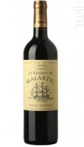 La Réserve de Malartic - Château Malartic-Lagravière - 2015 - Rouge