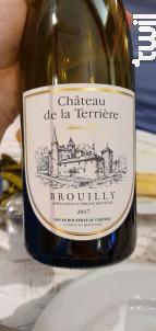 Brouilly Tradition - Château de la Terrière - 2017 - Rouge