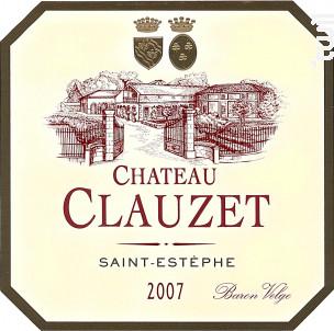 Château Clauzet - Château Clauzet - 2007 - Rouge