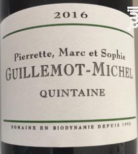 Quintaine - Domaine Guillemot - Michel - 2016 - Blanc