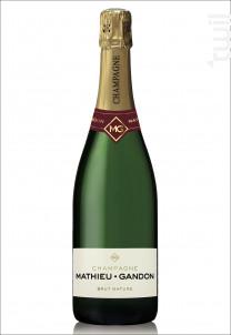 Brut Nature - Champagne Mathieu-Gandon - Non millésimé - Effervescent